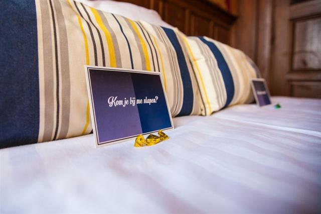 Your bed has been made, waiting for you to stay at King's Inn